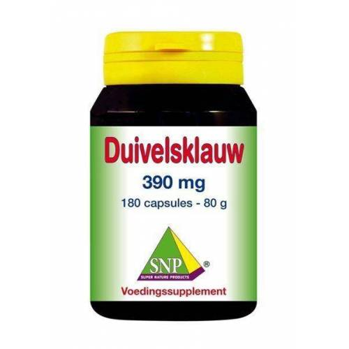SNP Duivelsklauw 390 mg (180 capsules)
