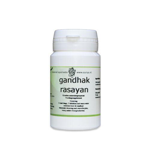 Surya Gandhak rasayan (60 tabletten)