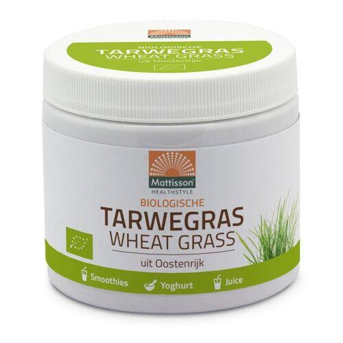Mattisson Bio tarwegras wheatgrass poeder raw (125 gram)