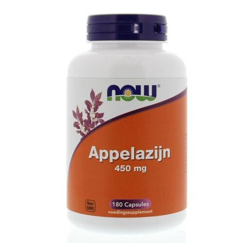 NOW Appelazijn 450 mg (180 capsules)