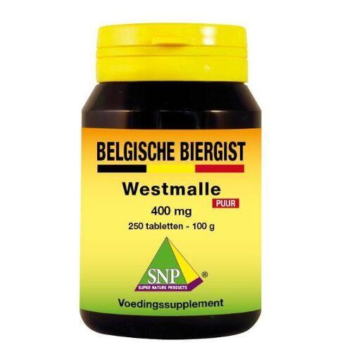 SNP Belgische biergist 400 mg puur (250 stuks)