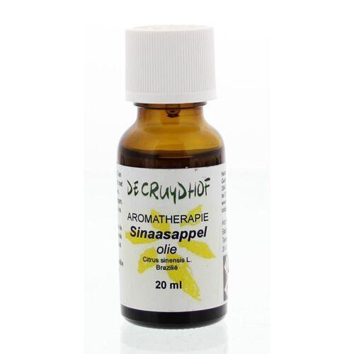 Cruydhof Sinaasappelschil olie braziliaans (20 ml)