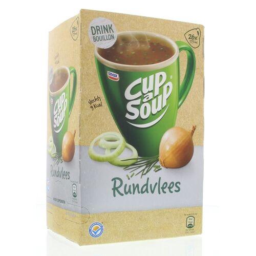 Cup A Soup Rundvlees bouillon (26 zakjes)