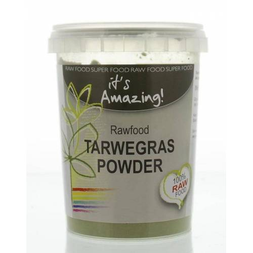 It's Amazing Raw & organic tarwegras poeder bio (125 gram)