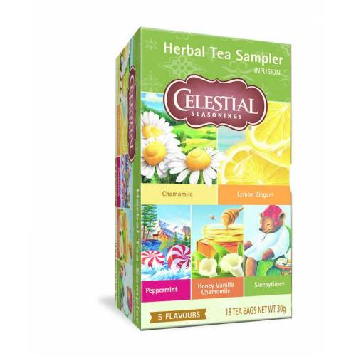 Celestial Season Herb sampler tea (18 zakjes)
