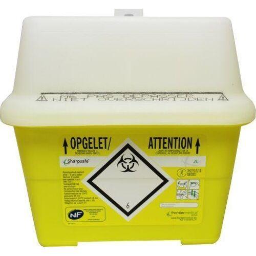 Medeco Naalden container Sharps (2 liter)