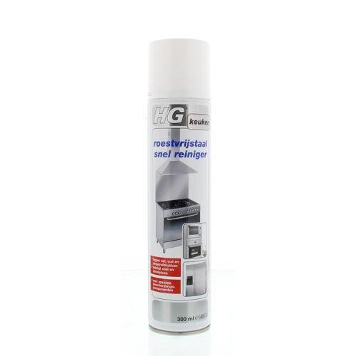 HG Roestvrijstaal snel reiniger (300 ml)