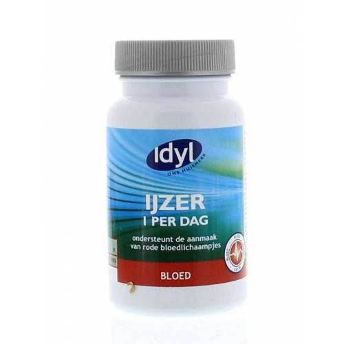 Idyl IJzer 1 per dag (60 tabletten)