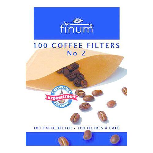 Finum Koffiefilters no. 2 (100 stuks)