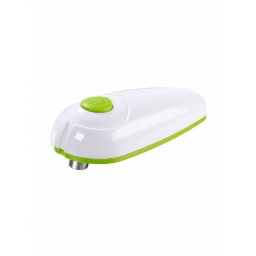 GOURMETmaxx Elektrische blikopener GOURMETmaxx wit/groen