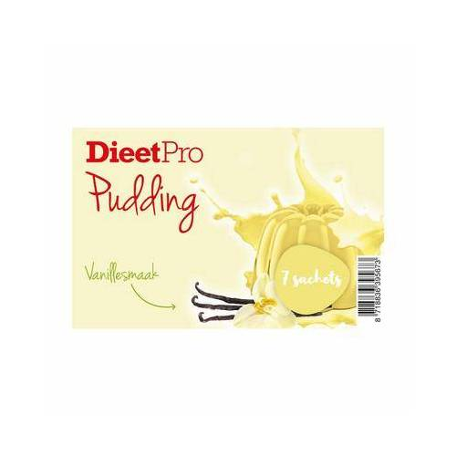 Dieet Pro DieetPro Pudding vanille box 1set