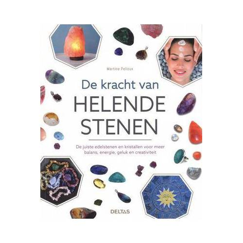 Deltas Kracht van helende stenen boek