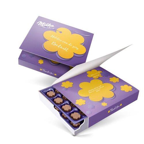 YourSurprise Say it with Milka giftbox bedrukken - Bedankt - 220 gram