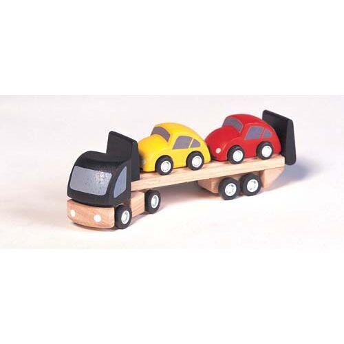 Plan Toys Autotransportwagen + 2 auto's
