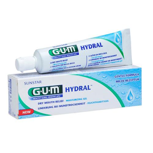 GUM Hydral Droge Mond Bevochtigingsgel - 50 ml