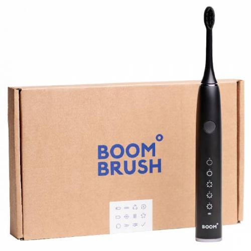 Boombrush Sonische Tandenborstel Zwart