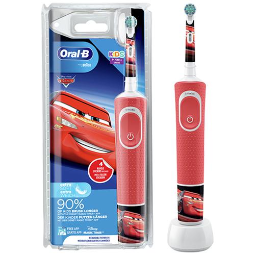 Oral-B Kids Cars elektrische tandenborstel - voor kinderen vanaf 3 jaar