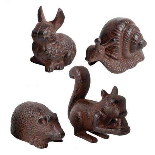 Gietijzeren dierfiguren