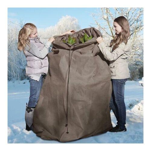 Winterbescherming thermocover 120 x 250 cm grijs