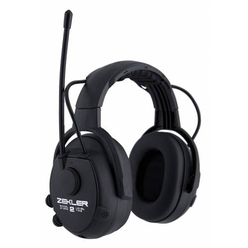 Gehoorbescherming ZEKLER 412RD met radio en omgevingswaarneming