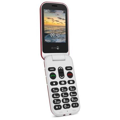 Doro 6060 Mobiele telefoon Rood