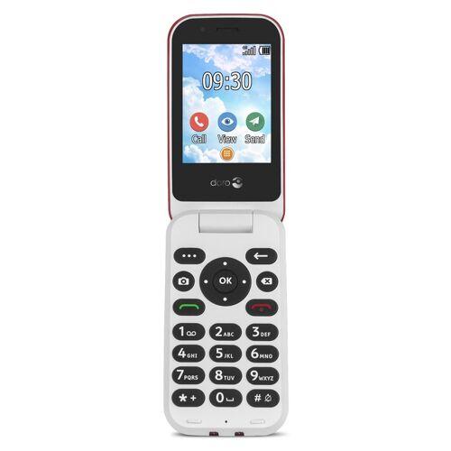 Doro 7030 4G Mobiele telefoon Rood