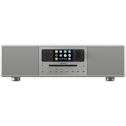 Sonoro Meisterstuck SO-610 V4 Hybride radio Zilver