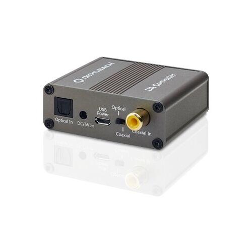 Oehlbach Digitaal-analoogconverter, coaxiale en optische ingang voor digitaal signaal TV accessoire