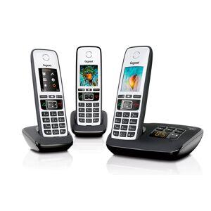 Gigaset A670A Trio Dect telefoon Zwart