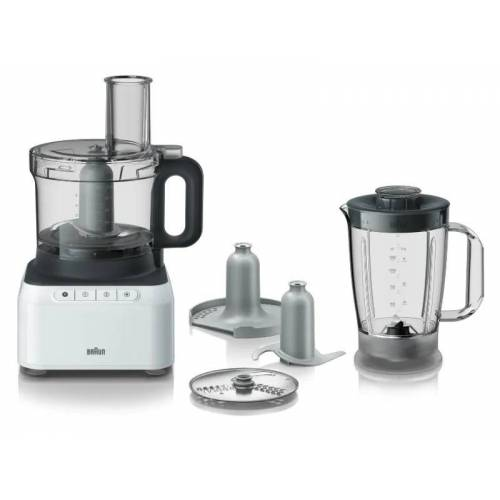 Braun FP 3131 WH Foodprocessor Wit