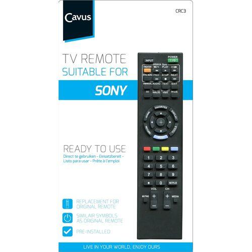 Cavus TV afstandsbediening voor Sony Afstandsbediening