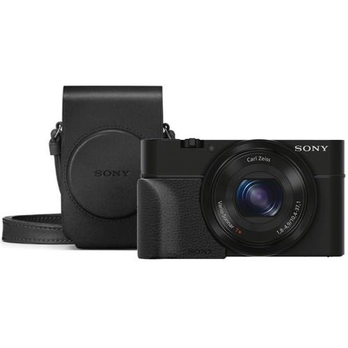 Sony CyberShot DSC-RX100 III + Grip + Tas