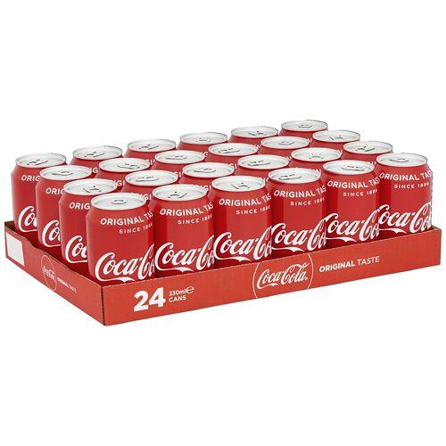 Coca-Cola Coca Cola 330 ml. / tray 24 blikken