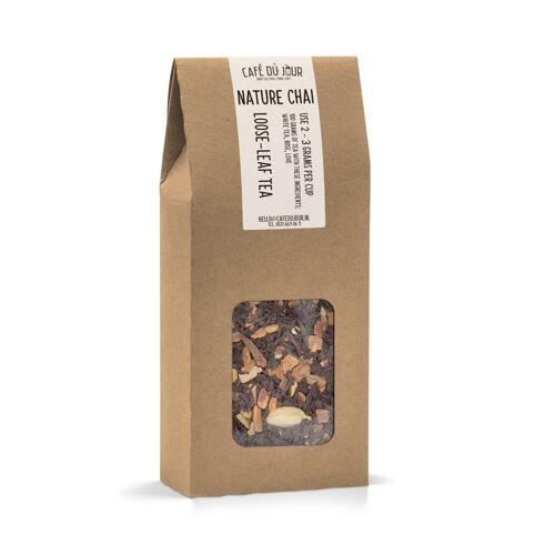 Café du Jour Nature Chai - zwarte thee 100 gram - Café du Jour losse thee