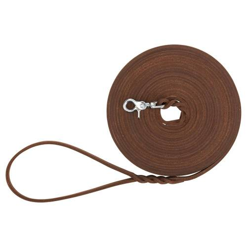 Sleeplijn Leather - bruin -