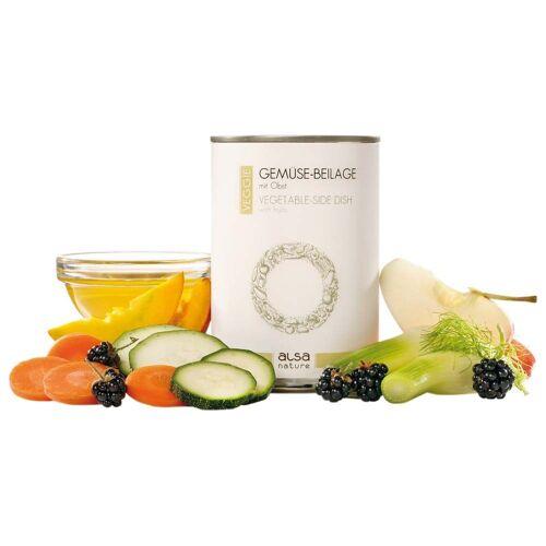 alsa-nature VEGGIE Groente-bijlage met fruit - - 12 x 375 g