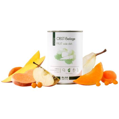 alsa-nature SIMPLE Fruit-bijlage - - 12 x 375 g