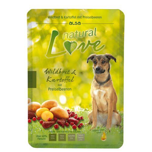 alsa natural Love Wild & Aardappel met rode bosbessen - -