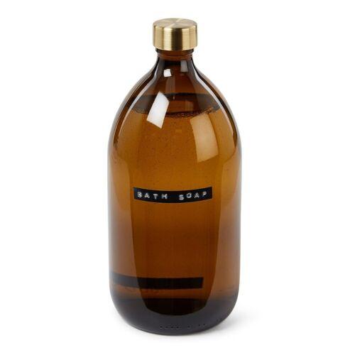 Wellmark Bath Soap - Bamboo bad- & douchegel 1 liter - Lichtbruin