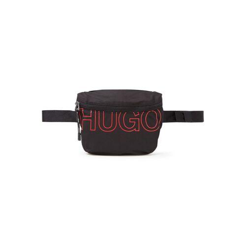 HUGO Reborn rugzak met logo - Zwart