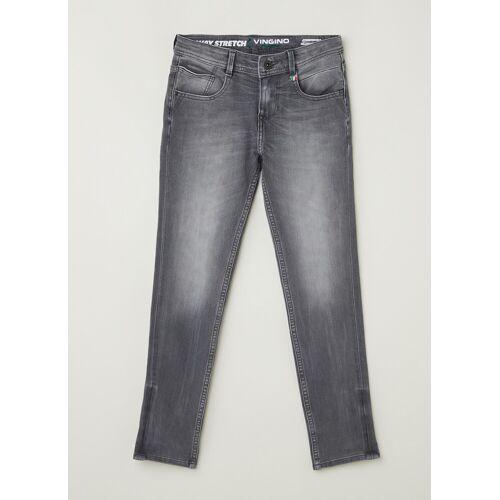 Vingino Alfons skinny fit jeans met stretch - Grijs