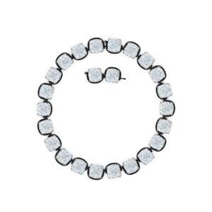 Swarovski Ketting met kristal - Zilver