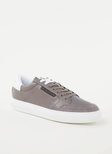 Calvin Klein Sneaker met suède d...