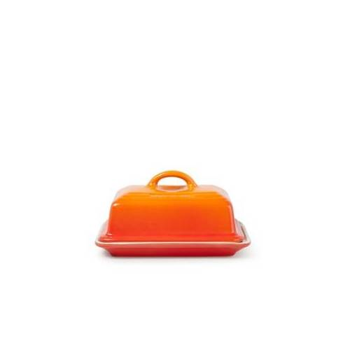 Le Creuset Botervloot 17 cm - Oranjerood