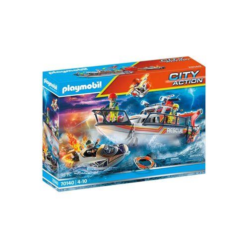 Playmobil 70140 Redding op zee: brandbestrijdingsmissie -