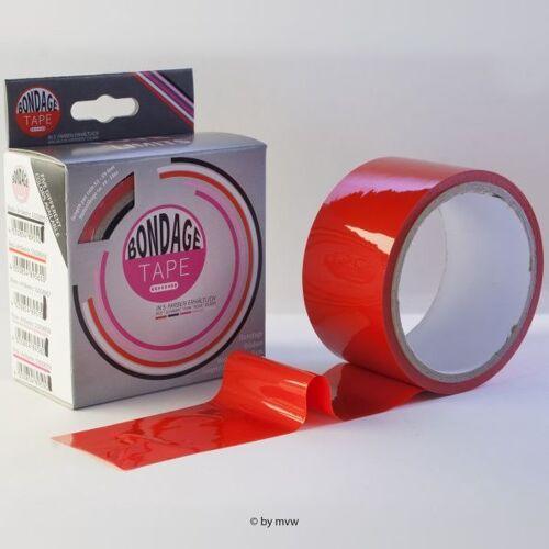 MVW Bondage Tape - Rood