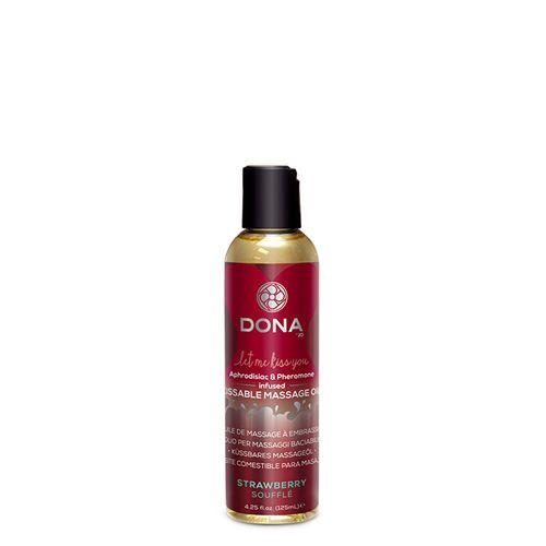 Dona-by-Jo Dona Kissable Massage oil Strawberry