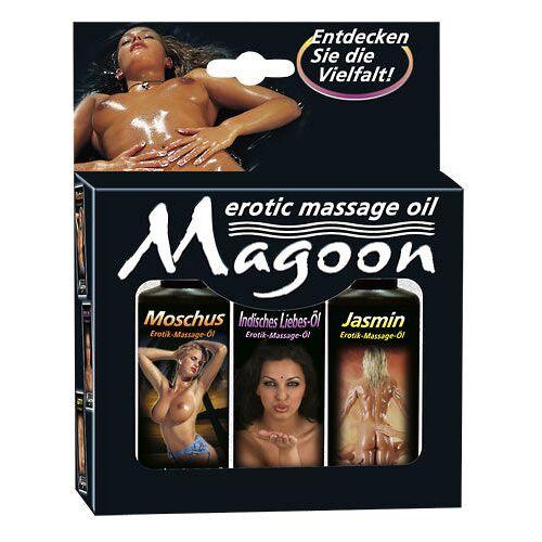 Magoon Erotische massage Olie - Set
