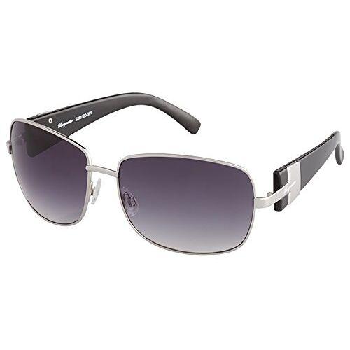 SBM120-391-Schwarz Klassieke merkzonnebril voor heren van Burgmeister met 100% uv-bescherming, zonnebril met stabiele metalen behuizing, hoogwaardig brillenkoker, brillenzakje