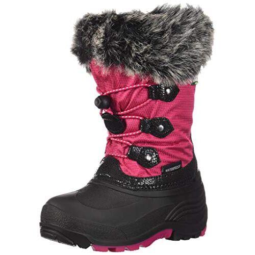 NF8010C Kamik Girls' Powdery2 Sneeuwlaarzen, Roze (Rose Rose), 10.5 UK